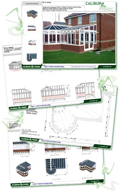 Photo conservatory reports software for Timber, PVCu, UPVc, Aluminium & wooden conservatories & sunrooms.